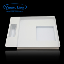 High quality White PVC PET thermoforming blister packaging tray