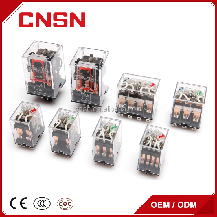 LY1 6v 12v 24v 48v 220v Electromagnetic mini relay