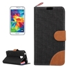 New arrival Horizontal Flip Leather phone case for Samsung galaxy s5 case