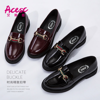 Brazil Imported Leather Women Casual Loafers Shoes