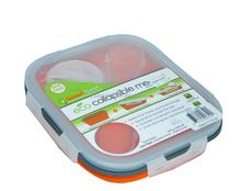 Small 1-Compartment Silicone Collapsible Lunch Box