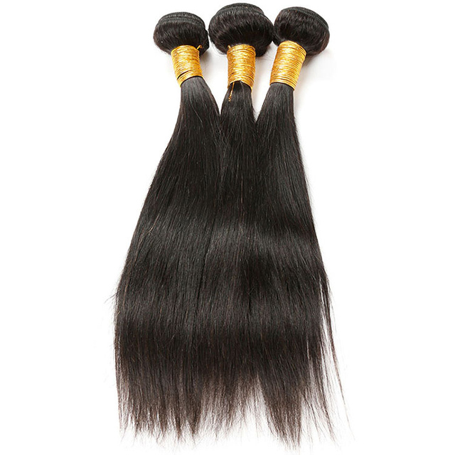 Unprocessed Peruvian Straight Human Hair Extensions Uk