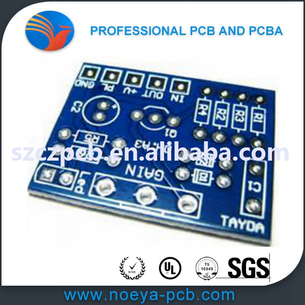 Hot Sale blue solder mask electronics tablet circuit board