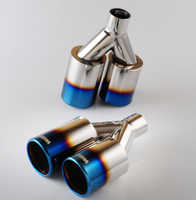 car body kits exhaust pipe for universal