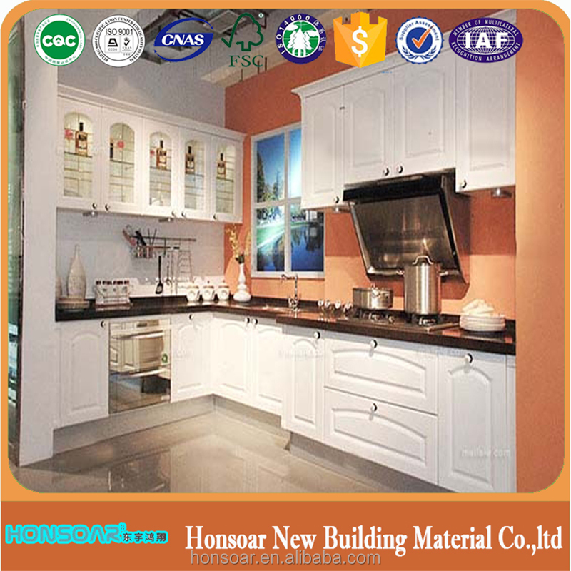 Modular western style kitchen cabinet wholesale
