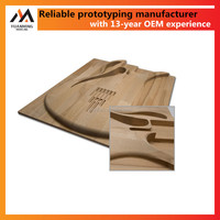 rapid prototyping cnc machining wood in China factory