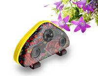 newest bicycle various color solar portable speaker bag power sound outdoor portable