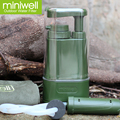 individual portable water filter militery water filtration for tramping hydration