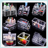 Factory acrylic acrylic storage containers with drawer