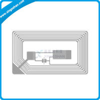 China Factory rfid hf inlay with fm11rf08 chip