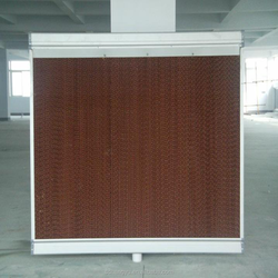 H Y evaporative cooling pad cooling pad price and fan cooling system for poultry farming