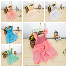 Factory Wholesale Baby girls sequin dress, long skirts for party, girls communion dress