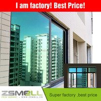 Hot selling self adhesive house window tint film one way Zsmellion mirror Window tint film for house