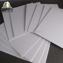 Thick pressed cardboard paper grey chip folding puzzle board