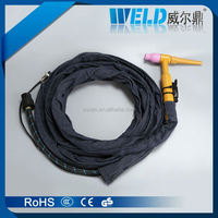 qq300a welding torch, tig welding gun welding spare parts, welding torch and kits