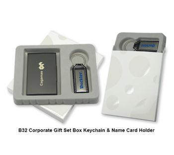Hot sale high quality Corporate Gift Set Box - Keychain & Card Holder