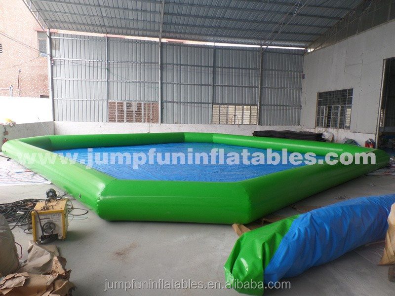 Inflatable PVC pool rental with good quality