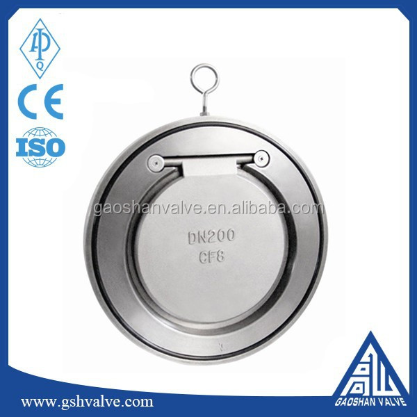 stainless steel cf8 tilting disc check valve