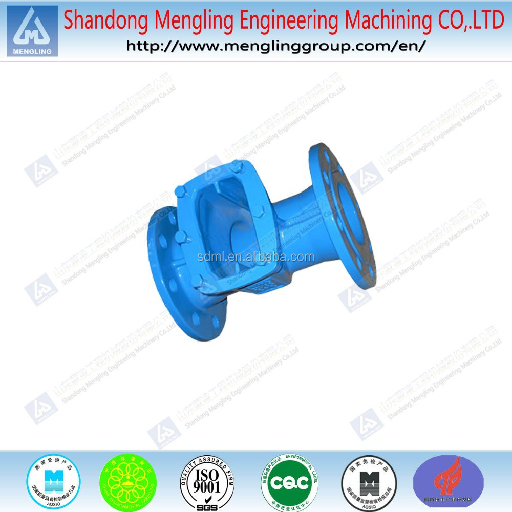 OEM rust proof painted sand casting valve body
