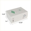White Electronic Packaging Printed Presentation Boxes
