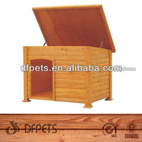 Wooden Dog Kennel With Opening Roof DFD025
