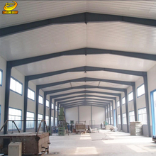 Light steel structure warehouse drawings industrial rent