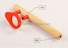 promotional wooden floating toy kids mouth blow ball