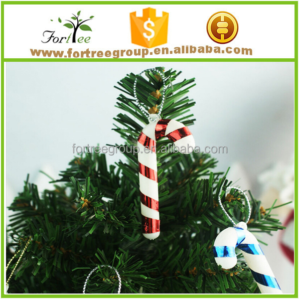 outdoor candy cane christmas tree pendant necklace and <strong>decorations</strong>