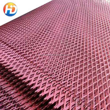 interior decorative expanded metal wall panel