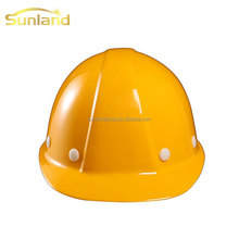 Men mechanical building white industrial safety helmet for working