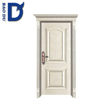 china alibaba wholesale popular nice design solid wooden main door 100% pure wood carved