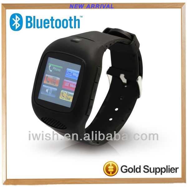 2013 new style for z1 smart watch phone with BT wifi G-senor