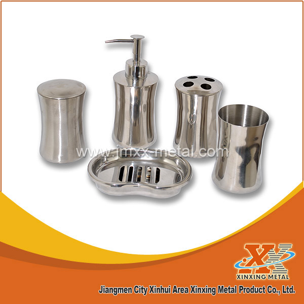 Hot Sale Stainless Steel Bathroom Accessories Set