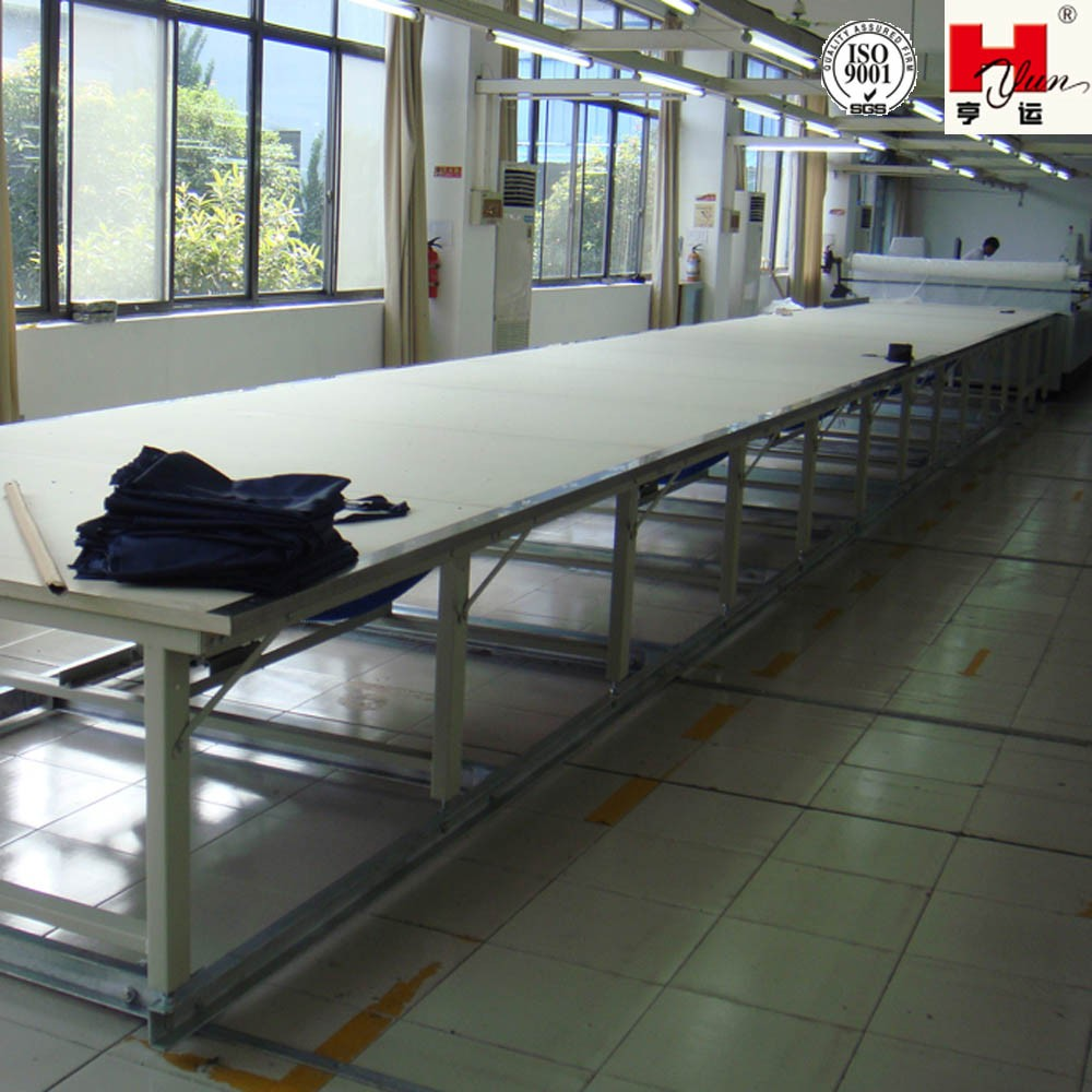Industrial Sewing Cutting Tables Fabric Cutting Table with Cutting Machine