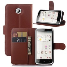 Hot selling leather case for Lenovo A516 Leather Mobile phone filp cover case for Lenovo A516