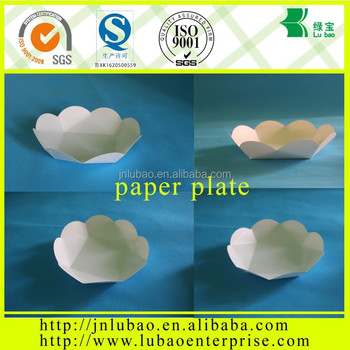 paper cake or other sanck plate for party or wedding