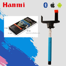new year gift 2016 bluetooth selfie sticks for mobile phone promotion