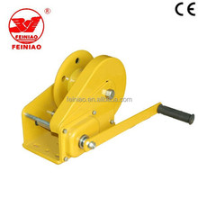 Alibaba Supplier Hand Ratchet Winch/ Mini Hand Winch Hot Sale