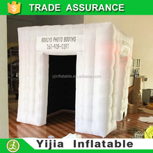led light photo booth outdoor and indoor use YIJIA photobooth event