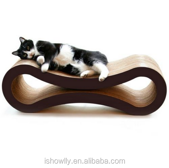 Cat Scratching Post in One Kitten Bed Lounge Scratch Play Furniture for Your Pet
