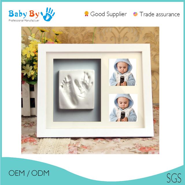 baby handprint casting frame_Yuanwenjun.com