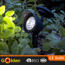 3 pcs super bright led solar laser light lawn spot light for garden
