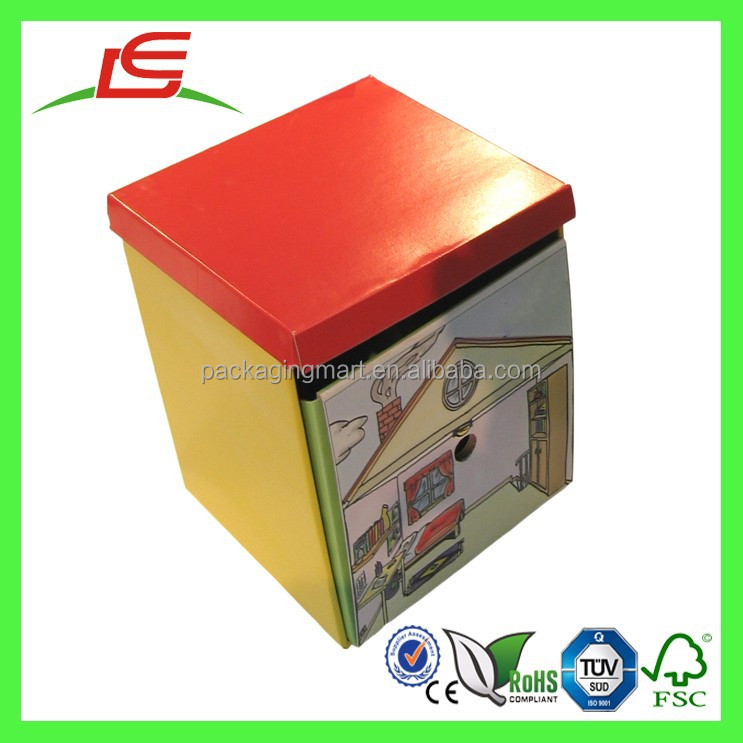 Q1204 China Baby Cardboard And Paper Drawer Slide Box, Paper Sliding Box Wholesale