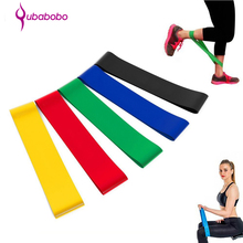 2017 Hot Sale Natural Latex Fitness Bands Stretch Exercise Elastic Resistance Bands