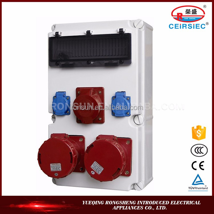 Waterproof Manufacturer 16A/32A electrical outlet cover box promotional item