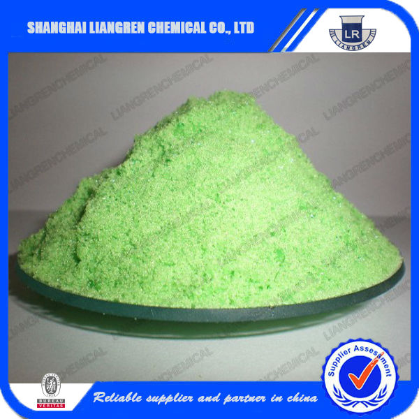 Nickel Chloride 98%min plating chemicals