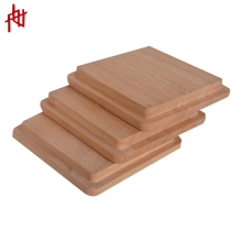 Wholesale custom solid wood jar cover / cap / lids for candle ceramic cosmetic cup