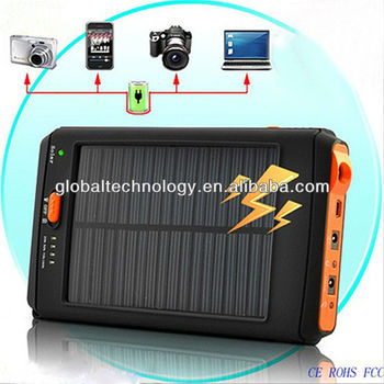 11200mah Solar Charger with 2W Solar Panel