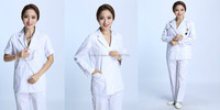OEM New style Short-sleeve Lab coat, Lab coat design, Medical lab coats
