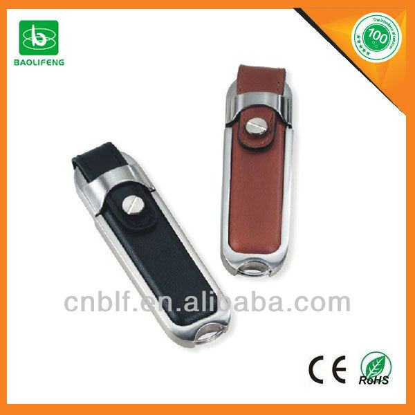 leather usb 1gb-64gb drive flash OEM printing usb flash drive